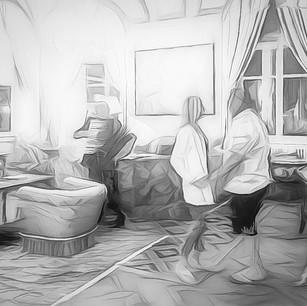 """The Music Room"" Lake Como"