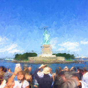 """Statue of Liberty"" NYC Harbor"