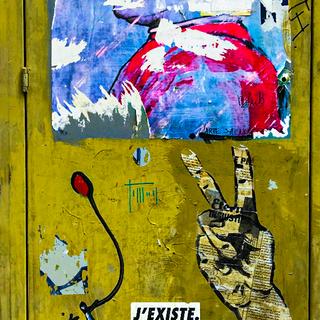 """""""Locker Graffiti"""""""