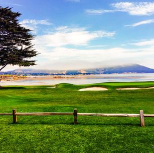 """""""Pebble Beach Golf Course"""" California"""
