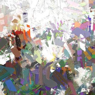 Colorful Confetti Abstract