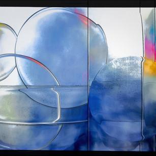 """Subway Bubbles""Border Amsterdam Holland"