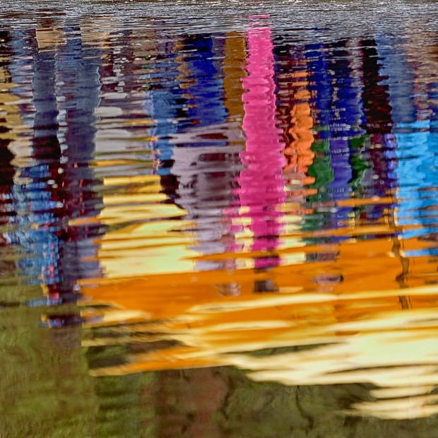"""Reflections"" Keukenhof Gardens Lisse Netherlands"