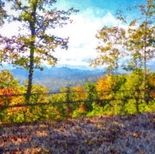 """""""Fall in the Mountains"""" North Carolina"""