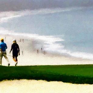 """Spyglass Golf Course"" Pebble Beach, California"