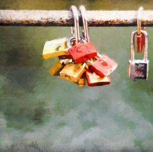 """Love Locks"" Berlin Germany"