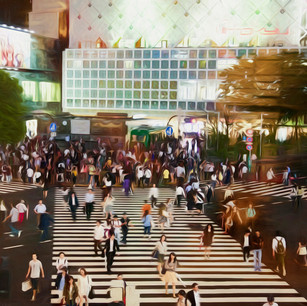 """Shibuya Crossing"" Tokyo Japan"