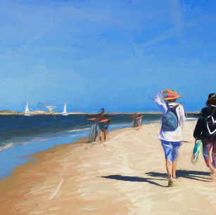 """Day at the Beach"" New Smyrna Beach Florida"