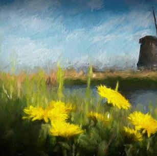 """Windmills of Hoorn"" Holland"