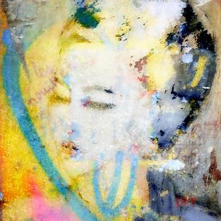 Graffiti Lady Colorful