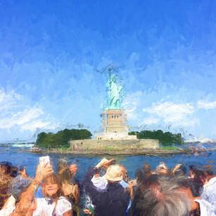 """Statue of Liberty"" NYC Harbor"