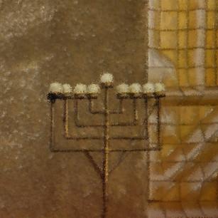 """The Great Synagogue Menorah"" Tel Aviv, Israel"