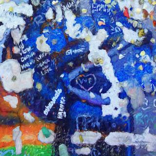 """""""Berlin Wall Graffiti"""" Berlin, Germany"""