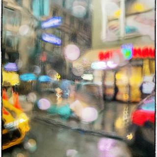 """Rainy Night"" New York City"