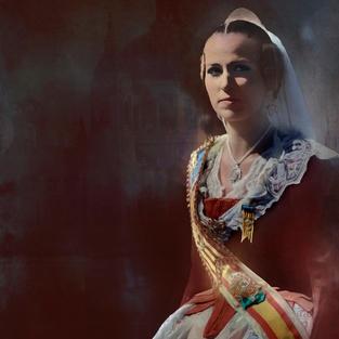 Beautiful Lady Spain