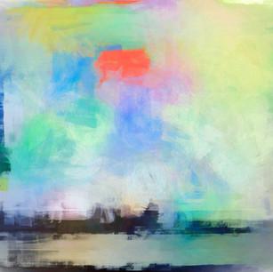 """Navigational Abstract"" Lake Mary Florida"