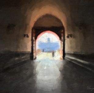 """""""Tiananmen Square Tunnel"""" China"""