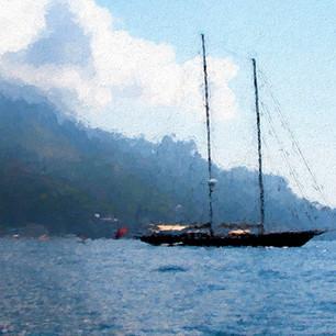 """Sailing Away"" Mallorca Spain"