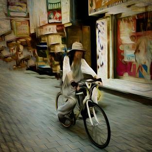 Bicycle Rider Japan