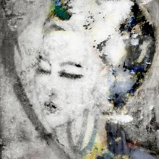 Graffiti Lady Black & White