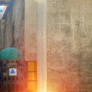 """The Great Synagogue Clock"" Tel Aviv, Israel"