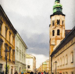 """Out for a Stroll"" Vertical Krakow, Poland Portrait.jpg"