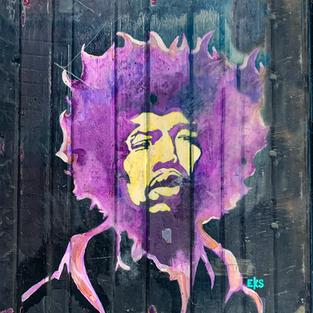 """""""Jimi Hendrix"""" NYC"""
