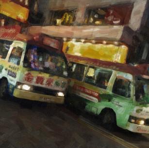 """""""Tourist Buses"""" Hong Kong"""