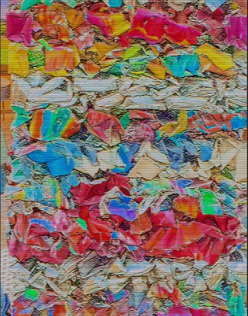 Colorful Car Smash