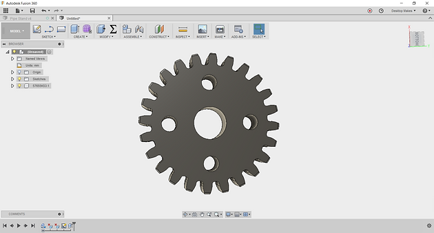 The Easy Way to Design Gears in Fusion 360