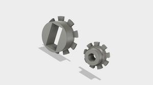 fusion 360, pulley, servo mount