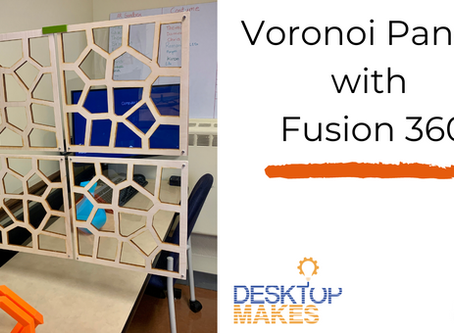 Creating Laser Cut Voronoi Panels in Fusion 360