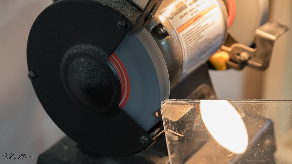 grinder, acrylic