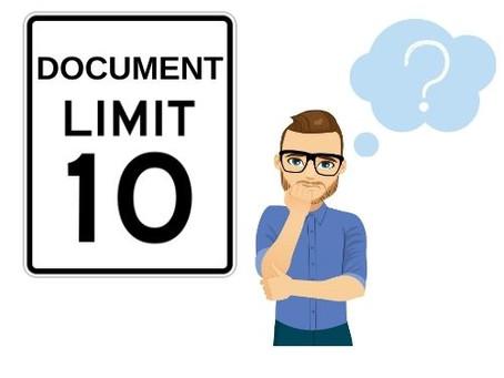 Fusion 360's 10 Document Limit Explained