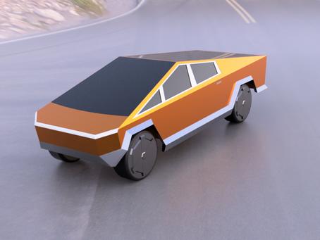 Design the Tesla Cybertruck in Fusion 360