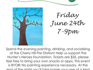 Paint and Sip Fundraiser