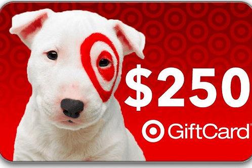 Week 1-Target Gift Card