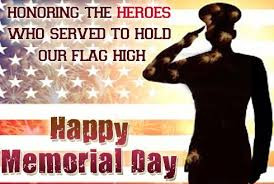 Thank you to all the men and woman!