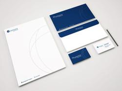 Diseño papelería Pharmaris