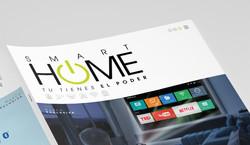 Logotipo Smart Home Falabella