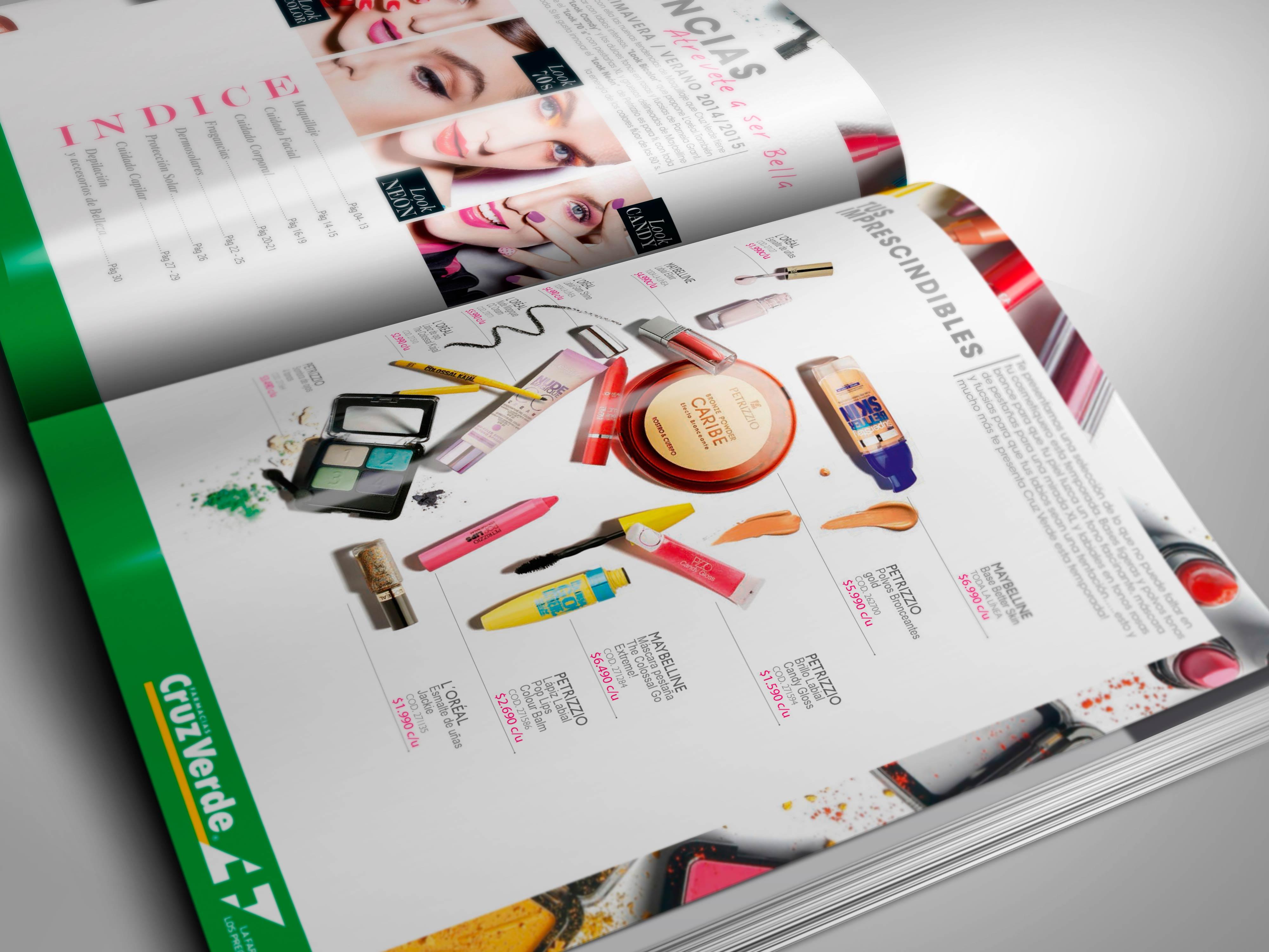 Interior Catálogo Belleza Maquillaje