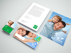 Diseño papelería Cruz Verde