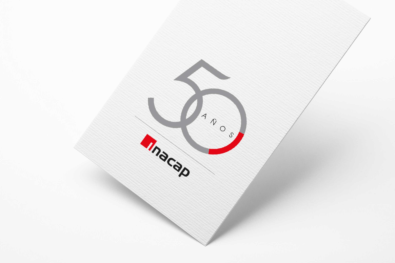 Logo Campaña 50 años INACAP