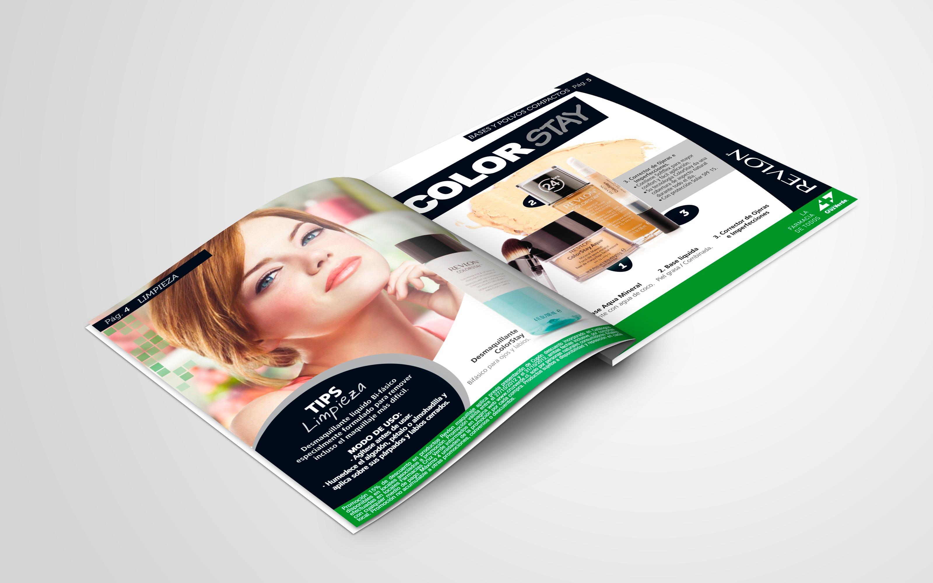 Catálogo Revlon Cruz Verde