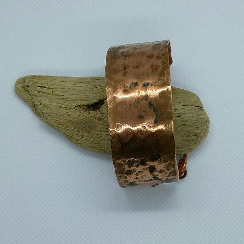 Hammered Copper Bracelet