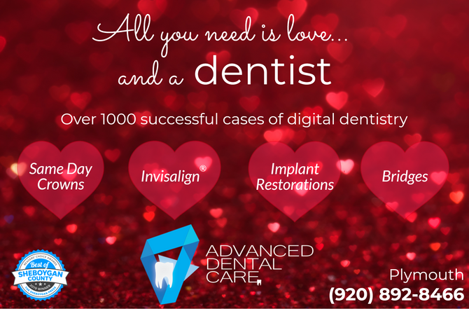All you need is love... and a dentist!