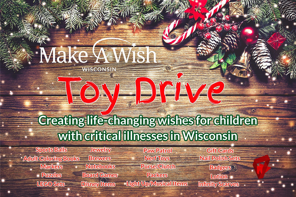 Wisconsin Make-A-Wish Toy Drive