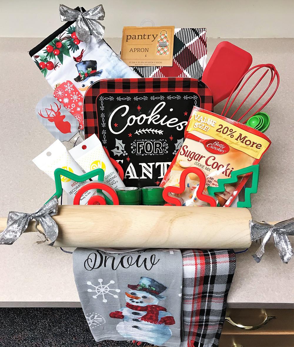 Holiday Baking Basket Raffle