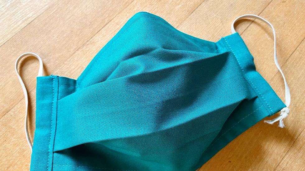 Emerald Solid/Plaid Reverse