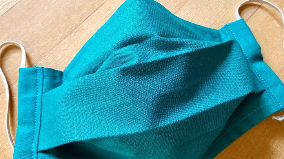 #2 Emerald Solid/Plaid Reverse